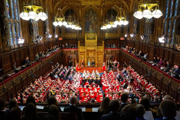 The House of Lords during the State Opening of