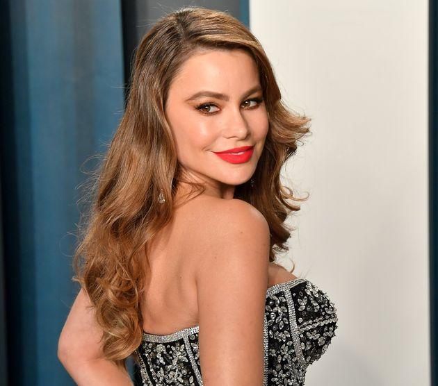 La actriz Sofia Vergara, en la fiesta Vanity Fair tras los Premios Oscar