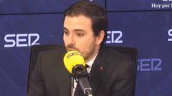 Garzón, sobre las discrepancias entre el PSOE y Unidas Podemos: