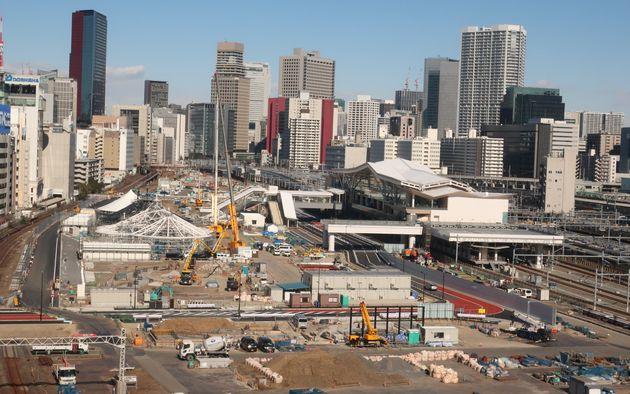 2024年にまちびらきを迎えるが、その後も開発は続く。新たな「玄関口」の誕生で、都心の交通、日本の人の流れはどのように変化するのか楽しみだ