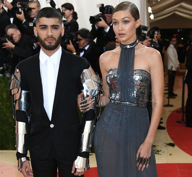 Le chanteur Zayn Malik et la mannequin star Gigi Hadid en