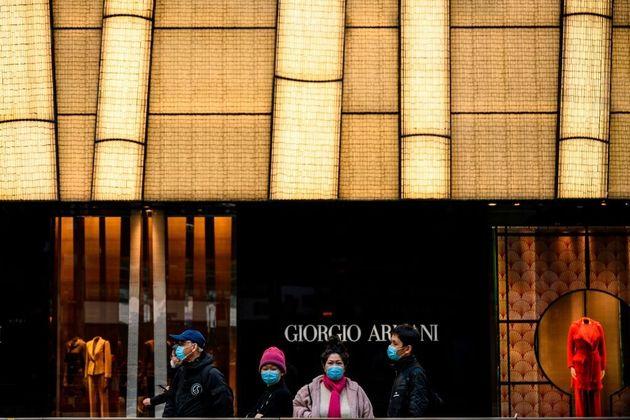 Giorgio Armani en Hong