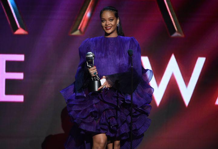 Η Ριάναστα NAACP Image Awards 2020.