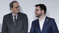Torra y Aragonès irán a la mesa de diálogo entre Gobiernos con diputados y