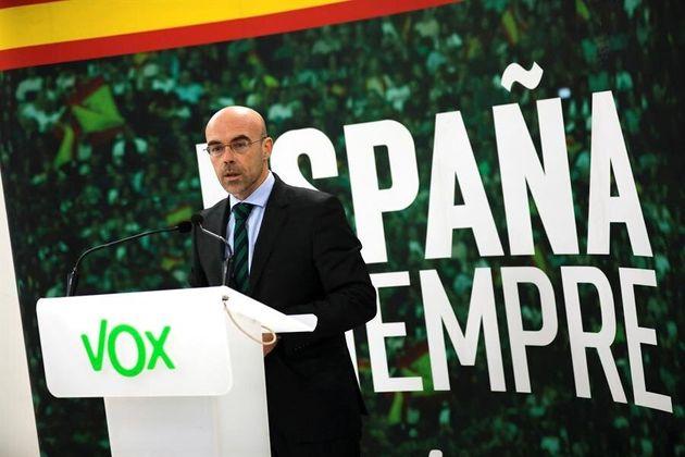 El portavoz de Vox Jorge