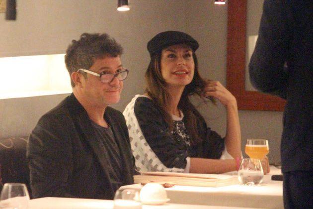 Raquel Perera y Alejandro Sanz, en