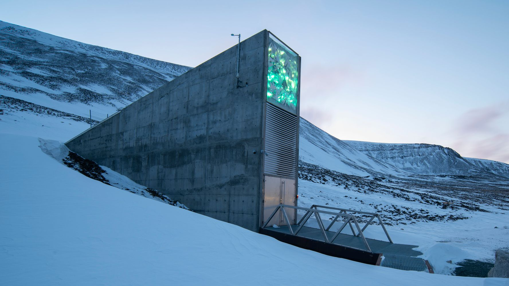 How This Frozen Mountain Vault Could Save Us From A Global Food Crisis