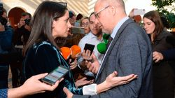 El tenso vídeo entre Arrimadas e Igea: