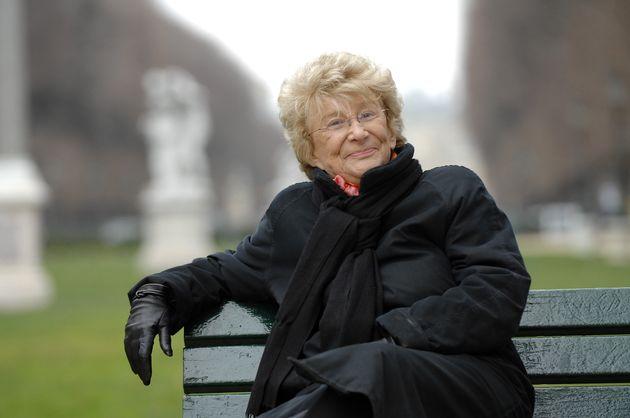 Yvette Roudy, première ministre des Droits des