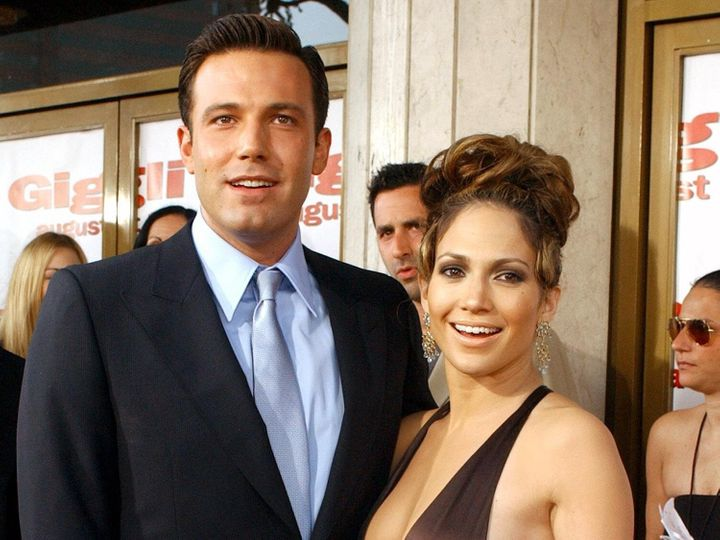 "Ben Affleck and Jennifer Lopez met on the set of ""Gigli"" in 2002."