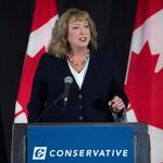Tory Leadership Hopeful Says She'll Try To Bring Down Liberals Right
