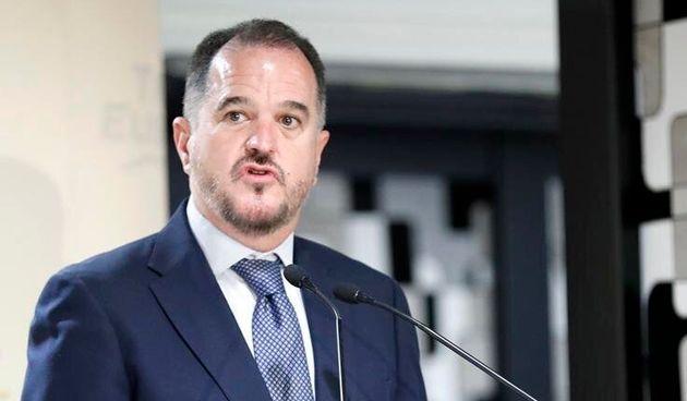 El candidato de PP+Cs en País Vasco, Carlos Iturgaiz, en una imagen de