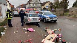 Al menos 30 heridos por un atropello masivo intencionado en un carnaval en