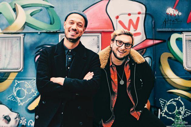 Mcfly (à droite) et Carlito (à gauche) sont des youtubeurs français suivis par plus...