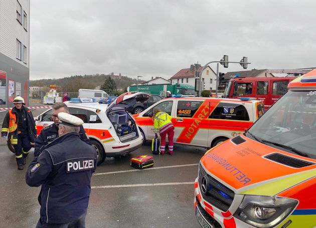 50 Injured As Car Driven Into Crowd At German Carnival