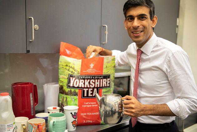 Chancellor Rishi Sunak likes Yorkshire