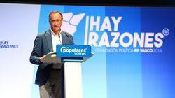 Alfonso Alonso dimite como líder de los populares vascos y abandona la