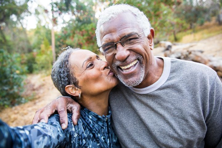 There might be some significant differences in the ways couples demonstrate their love for each other after they've been together a very long time.
