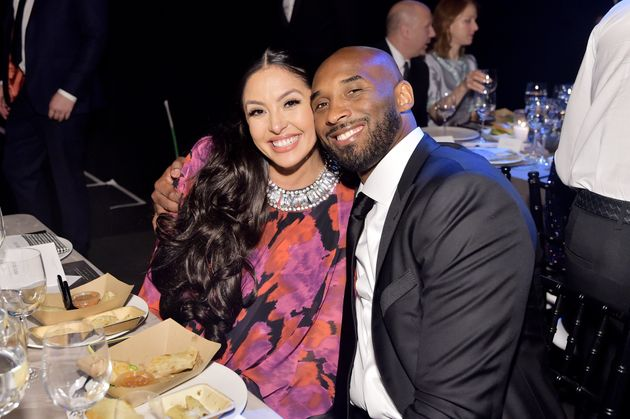 Vanessa and Kobe Bryant attend the 2019 Baby2Baby Gala presented by Paul Mitchell on Nov. 9, 2019, in...