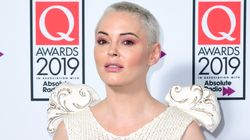 Rose McGowan salue