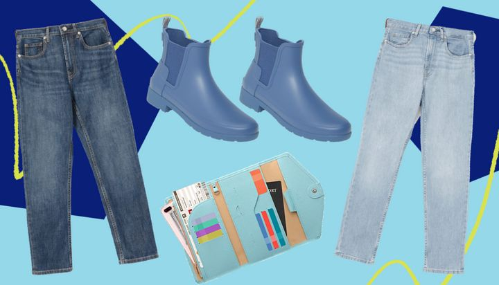 Hunter periwinkle rain boots, Everlane straight jeans and a travel wallet from Amazon— these are a few of HuffPost readers' favorite things in February.