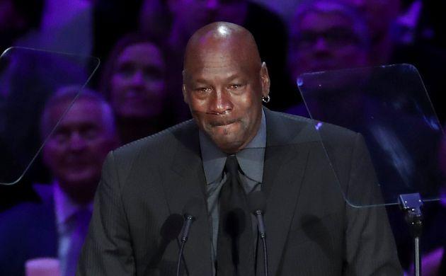 En larmes pour son hommage à Bryant, Michael Jordan a réussi à faire éclater...
