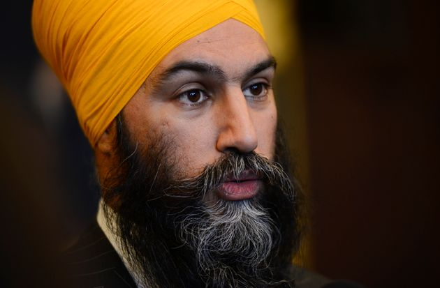 Jagmeet Singh, chef du NPD (photo