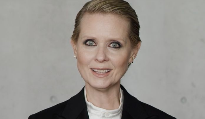 Cynthia Nixon dans «Be a Lady They Said» (Capture d'écran)