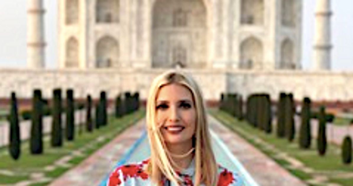 Americans Can't Figure Out What Ivanka Trump Is Doing In India