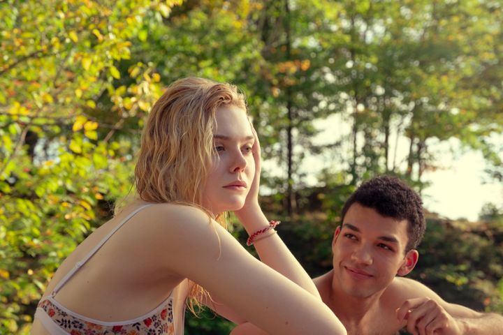 "Elle Fanning and Justice Smith in ""All the Bright Places."""