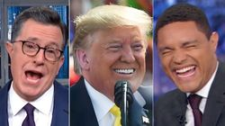Trump Keeps Mangling Names In India And American Late Show Hosts Are Having A