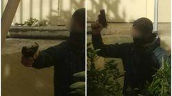 Νέες φωτογραφίες από την ΑΣΟΕΕ: Η στιγμή που αστυνομικός τράβηξε όπλο όταν δέχθηκε