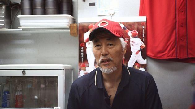 장명부와 함께 히로시마, 삼미에서 활약한 이영구씨. 지금은 일본 도쿄에서 음식점을 하고 있다. 영화