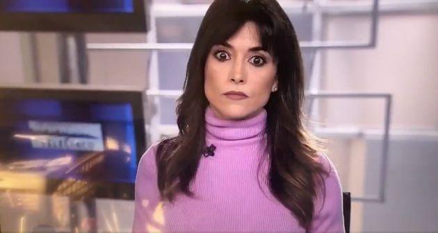 La presentadora Arancha Morales, en el Matinal de Informativos