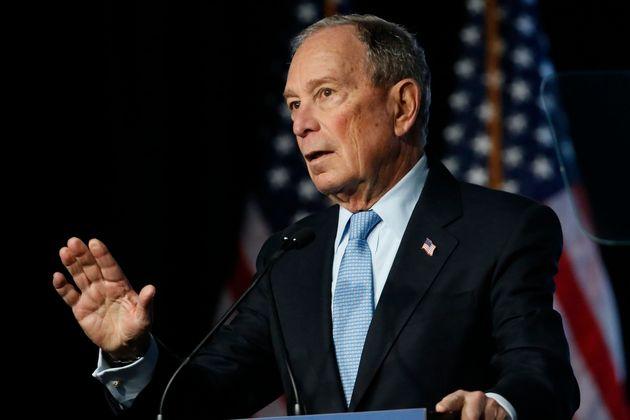 La photo postée par l'équipe de campagne de Mike Bloomberg n'a pas plu à tout le