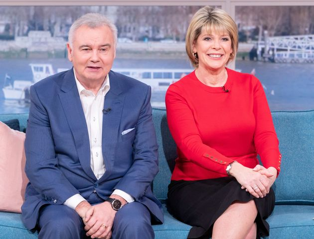 Eamonn with his wife and co-host Ruth