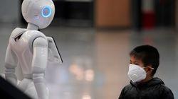 Robot, app, codici a barre e telecamere ovunque. La risposta hi-tech della Cina al
