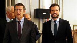 Feijoó lamenta ante Casado que Alfonso Alonso abandone la política: