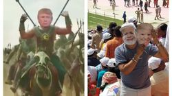Riots In Delhi, Memes And Farce Marked Donald Trump's India