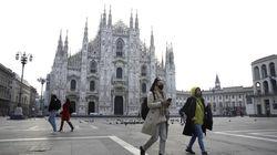Colegios cerrados, calles desiertas y trenes vacíos en Italia por el coronavirus: