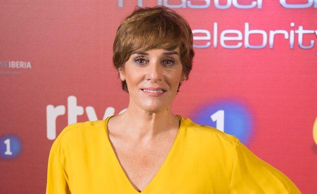 Anabel Alonso, durante la presentación de la segunda edición de 'MasterChef Celebrity' el 14 de septiembre...