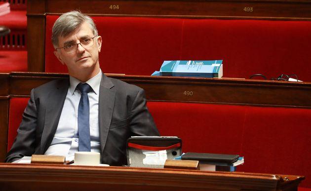 Le député LREM des Hauts-de-Seine Jacques Maire à l'Assemblée nationale le...