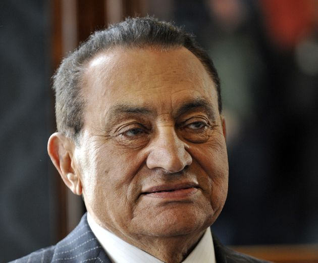 Hosni Moubarak, ici en