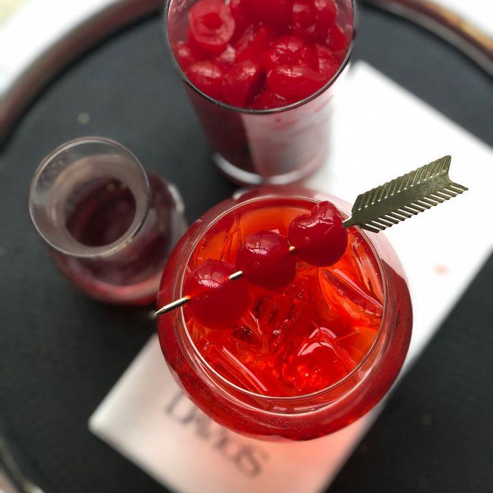 Don't forget the maraschino cherry garnish.