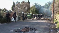 Επεισόδια σε Χίο και Λέσβο με φόντο τις νέες προσφυγικές