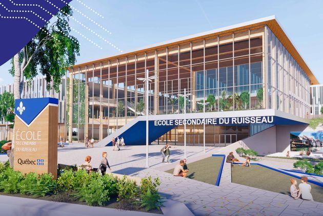 Image tirée du guide «Une nouvelle génération d'écoles» du ministère de l'Éducation et de l'Enseignement