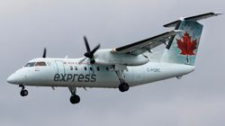 Un avion d'Air Canada Jazz a eu des problèmes avec son train d'atterrissage à