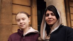 O encontro histórico entre Greta Thunberg e Malala