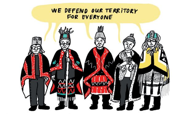 Chloé Germain-Thérien breaks down protests happening across the country through a comic