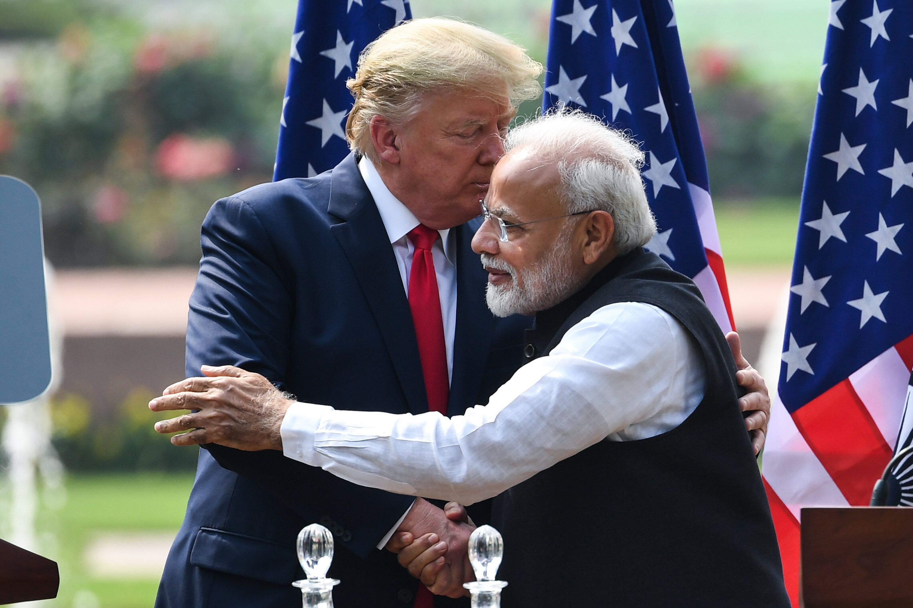 Nero Worship: Trump And Modi Revel In Bromance As Delhi Burns